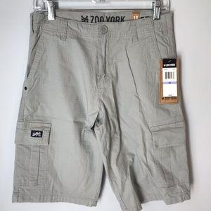 Zoo York Grey Cargo Shorts Size 18
